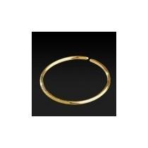 Piercing Argola Nariz Orelha Em Ouro 18k Amarelo