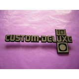 Chevrolet-insignia Custon Deluxe 10 Pick Up Mod.85