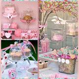 Porta Torta Cupcake Vidrio Base Candy Bar Mesa Dulce Vintage
