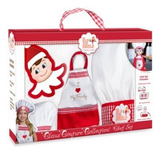 Set De Ropita De Chef Para The Elf On The Shelf