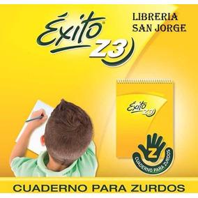 Cuaderno Escolar Exito Z 3 Nº 3 Para Zurdos P Mano Izquierda