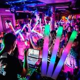 Varitas Luminosa Led,espuma Luces (fiestas, Eventos,cotillón