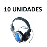 Kit Com 10 Unid Fancong 915 Mv Fone Com Microfone No Fio