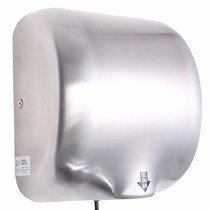 Secador De Manos 1800w Automatico Alta Vel. Cromado Nb