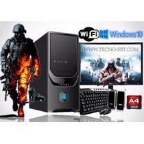 Pc Computadora Completa Gamer Full Hd A4 Dualcore 4g 1tb Ps3