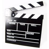 Claquete Clacket Cinema Youtuber 30cm