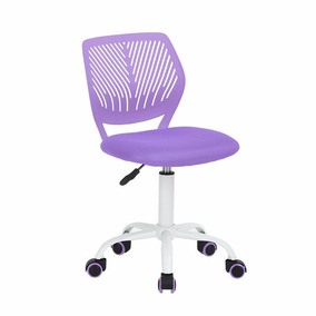 Silla De Escritorio Carnation Purple - Muebilia