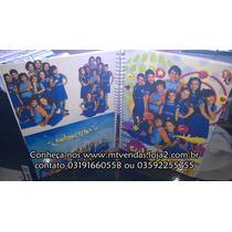 Caderno De Anotações Chiquititas Com Adesivos 323454
