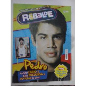 Poster Rebeldes Brasil - Pedro