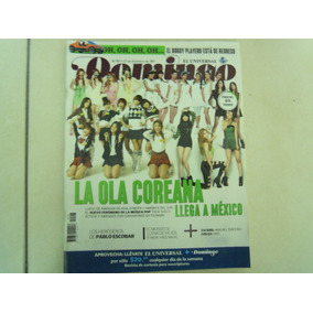 Domingo Revista La Ola Coreana Llega A Mexico