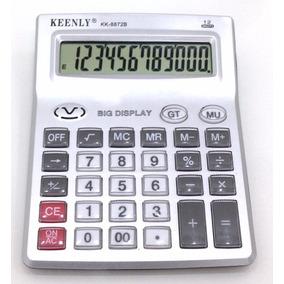 Calculadora Grande 12 Dígitos C/proteção Dos Botões 8872am