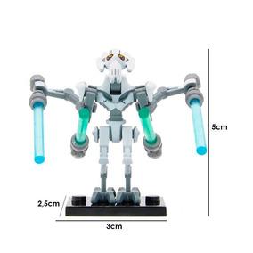 Star Wars Figura Compatible Lego Para Armar General Grievous