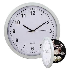 Reloj De Pared Caja Fuerte Camuflaje Con Compartimientos