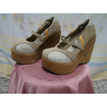 Sapato Feminino Anabela Lui Lui 35* Ver Asterisco - Usado