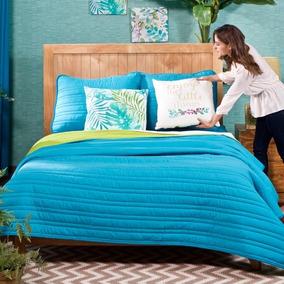 Edredones Basic Mat Varios Colores Vianney Envio Gratis