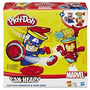 Masa Hasbro - Play Doh - Marvel - Capitán America Y Iron Man