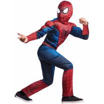 Disfraz De Spiderman Niños Hombre Araña Disfraces Musculos