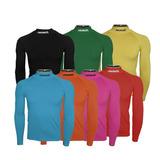 Camisa Térmica Reusch M/l Com Gola Ra370 Original + Nf