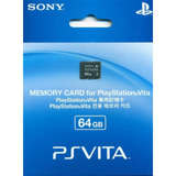 Ps Vita Playstation Vita Memoria 64 Gb Genuina Envio Gratis