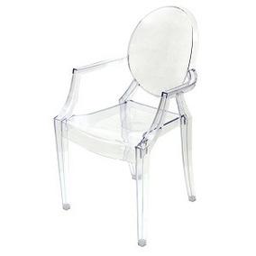 Cadeira Cozinha Jantar Policarbonato Transparente