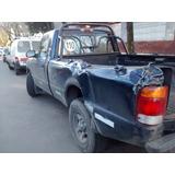 Caja Larga De Camioneta Ford Ranger 99 4 X 2 Chocada