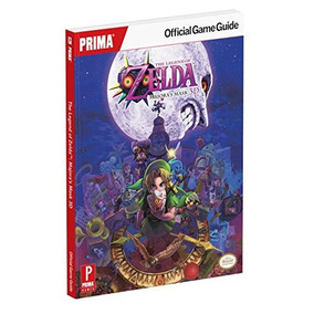 The Legend Of Zelda Majoras Mask 3d Prima Official Guia *sk