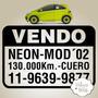 Cartel, Sticker, Calco Vendo Auto X3