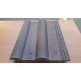 Tejas De Concreto Comprimido Romanas Color Marrón