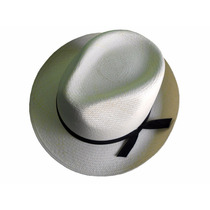 Sombrero Pachuco Jipi Japa (panamá) Ala Corta Natural Lbf