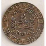 Ml-2613 Medalha - 60o. Aniversário De Botucatu 2002 57mm