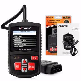 Scanner Diagnostico Automotivo Foxwel Nt201 Flex Diesel Leve