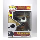 Funko Pop Kung Fu Panda Po Con Sombrero