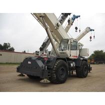 Terex 55 Ton, Año 2004, Rough Terrain Crane, Grua,