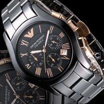 Reloj Emporio Armani Carmica Cronometro Ar1410 Entrega Inm.