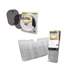 Kit Protetor Solar Parabrisa Diant + 2 Peças Lateral Tras.