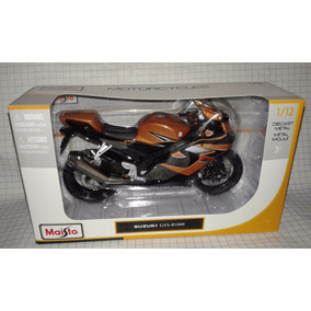 Moto Escala 1:12 Suzuki Gsx-r1000 Cobre Modelismo Maisto