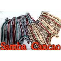 Cueca Samba Canção Wellosam Listrada Varias Cores
