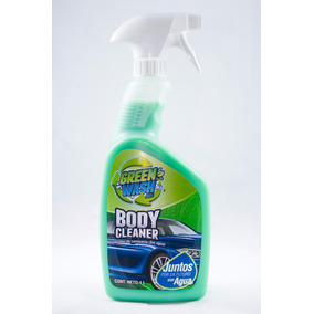 Green Wash Body Cleaner 700 Ml Lava Tu Auto Sin Agua
