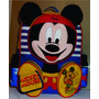 Bolso Escolar , Original Fascino (mickey Mouse)