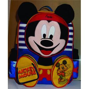 Bolso Escolar , Original Fascino (mickey Mouse)