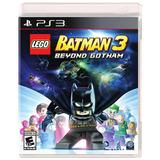 Lego Batman 3 Ps3 Cd Fisicos Nuevos Sellados