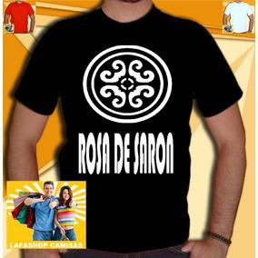 Camiseta Rosa De Saron Camisa Bandas Gospel Catolica Jesus
