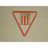 Figurita Mini-futbol 1972 - Escudo Los Andes