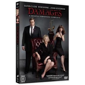 Damages 4ª Temporada - Box Com 3 Dvds - Glenn Close