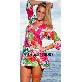 Ropa Playera - Hindu Bluson-vestido Algodon S,m,l