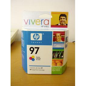 Cartucho De Tinta Hp 97 Vivera Tricolor, 14 Ml (c9363wl)