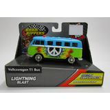 Camioneta Volkswagen Bus Van Samba Coleccion Paz Y Amor Cool
