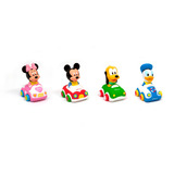 Autito De Arrastre Soft Mickey Minnie Donald Pluto Disney
