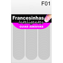 Guias Para Francesinhas - F01 - Com 126 Guias Finas