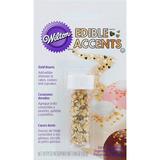 Edible Accents, Corazones Y Estrellas Comestibles - Wilton